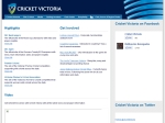 View More Information on Cricket Victoria