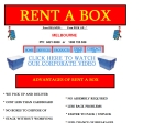 View More Information on A Rent A Box