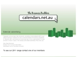 View More Information on Allen Calendar Group