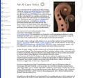 View More Information on Alex W Grant Violins