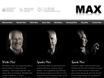View More Information on Max Walker Company The