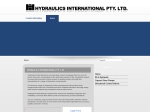 View More Information on Hydraulics International Pty Ltd