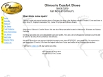 View More Information on Gilmour's Comfort Shoes
