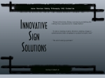 View More Information on Innovative Sign Solutions