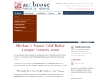 View More Information on Ambrose Furniture And Homewares