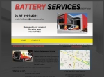 View More Information on Battery Services Pty Ltd
