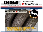 View More Information on Coleman Tyres Wacol