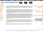 View More Information on Albany Creek State High School