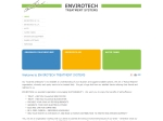 View More Information on Envirotech Treatment Systems