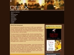 View More Information on Onyx Bar & Restaurant