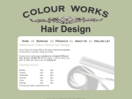 View More Information on Colourworks Hair Design