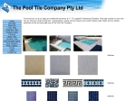 View More Information on Pool Tile Company Pty Ltd The