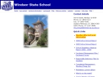 View More Information on Windsor State School