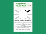 View More Information on Budget Ultra House Wash
