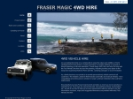 View More Information on Fraser Magic 4WD Hire