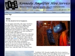 View More Information on Kennedy Amplifier Hire Service