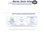 View More Information on Marian State School