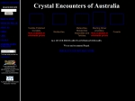 View More Information on Crystal Encounters