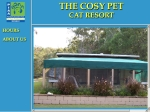 View More Information on Cosy Pet Cat Resort