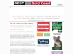 View More Information on Best Of The Gold Coast Magazine