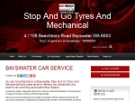 View More Information on Stop And Go Tyres And Mechanical, Bayswater