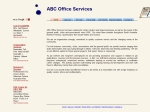 View More Information on ABC Office Services