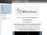 View More Information on EP Aquafeeds
