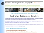 View More Information on A Australian Calibrating Services (A'sia) Pty Ltd
