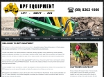 View More Information on BPF Equipment