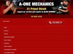 View More Information on A-One Mechanics, Ciccone