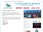View More Information on Castletown Chemist