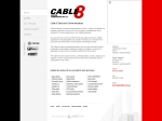 View More Information on Cable8 Electrical Communication