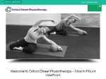 View More Information on Oxford Street Physiotherapy