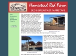 View More Information on homestead red farm