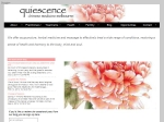 View More Information on Quiescence Chinese Medicine