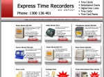View More Information on Express Time Recorders