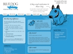 View More Information on Blue Dog