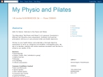 View More Information on My Physio And Pilates