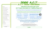 View More Information on Act Canine Association, O'CONNOR