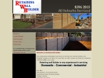 View More Information on Retaining Wall Builder