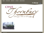 View More Information on One Thornbury Boutique B&B