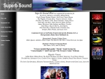 View More Information on A Superb Sound Hire