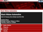 View More Information on Black Widow Automotive, Wallan East