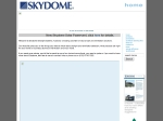 View More Information on Skydome