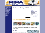 View More Information on Ripa Concrete Cutting Pty Ltd