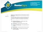 View More Information on Hunter Signs Pty Ltd