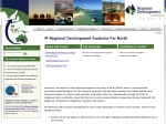 View More Information on Immigration South Australia - North Regional Development Board