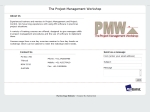 View More Information on Project Management Workshop
