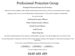 View More Information on Professional Protection Group