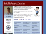 View More Information on Scott J. Mothersole Plumbing Draining And Gas